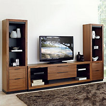 Stratus Media Console with Piers, 8804552