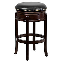wood counter bar height stool, 8812479