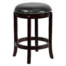 wood counter bar height stool, 8812481