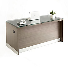 "Esquire Executive Desk - 66""W, 8828507"