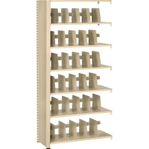 View of Empty Shelves