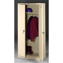"Fully Assembled Steel Wardrobe Cabinet - 36""W x 24""D x 78""H, 8804090"