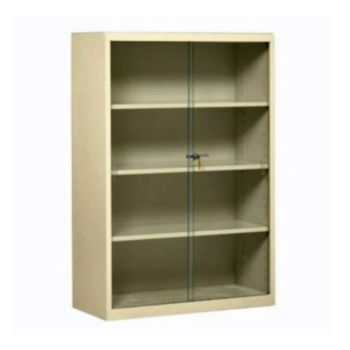 Steel bookcase with glass doors 8804071 officefurniture steel bookcase with glass doors planetlyrics Image collections