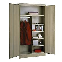 """Wardrobe/Storage Cabinet - 72""""H, TES-7220"""