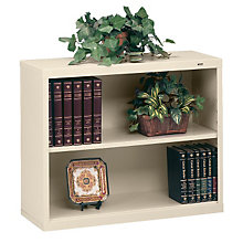 "Two Shelf Steel Bookcase - 13-1/2""D, TES-B-30"