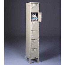 Six Tier Box Locker Unit, TES-BS6-121512-1