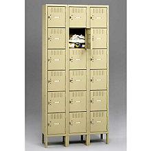 Six Tier Box Locker - Three Units Wide, 8804084