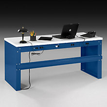 Heavy-Duty Steel Desk - Laminate Top, OFG-DS0045