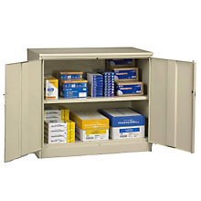 "Counter Height Storage Cabinet - 48""W x 24""D, TES-J2442SU"