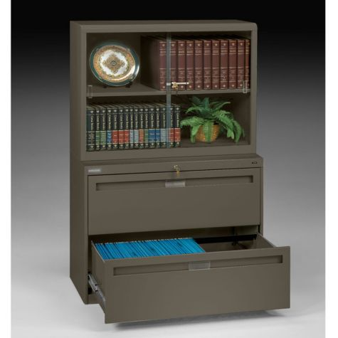 Matching file cabinets and bookcases available - s