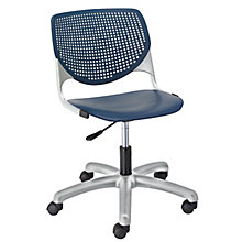 Kool Polypropylene Perforated Back Task Chair, 8814361