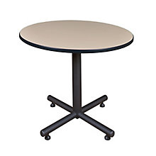 "42"" Rd Breakroom Table- Beige, 8821895"