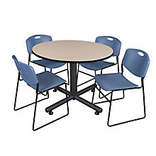 "Kobe 48"" Round Breakroom Table, 8821442"