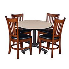 "48"" Rd Breakroom Table Set, 8821945"