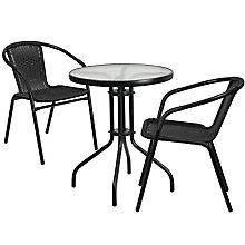 Table and 2 Stack Chair Set, 8812504