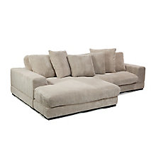 Plunge Sectional - Cappuccino, 8809465