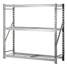 "Tread Plate Welded Three Shelf Rack 72"" H, 8820443"