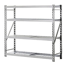 "Tread Plate Welded Four Shelf Rack 72"" H, 8820444"