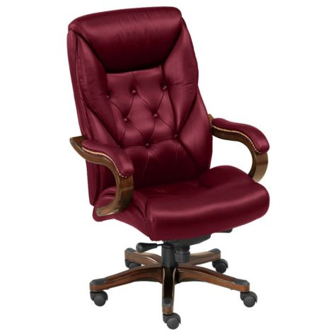 Shown in Oxblood upholstery