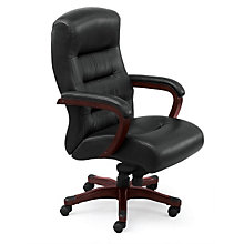 Big and Tall Executive Chair in Leather, TRU-42016