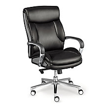 La-Z-Boy Lincoln Faux Leather Mid Back Executive Chair, 8827570