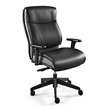 Faux Leather Ergonomic Task Chair, 8827573