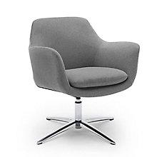 Low Back Swivel Lounge Chair, 8813419