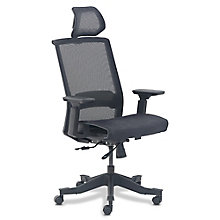 La-Z-Boy Moorland Mesh Chair with Headrest, 8828201