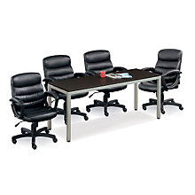 Set of 4 Mid-Back Conference Chairs, 8804210