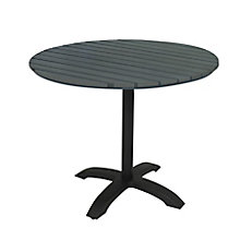 "Round Outdoor Café Table - 32"", 8822472"