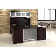 "Extra-Large Executive Desk - 102""W x 72""D , 8828061"
