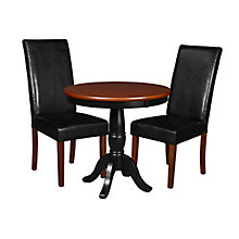 """30"""" Round Ped Table- / & 2 Din, 8821666"""