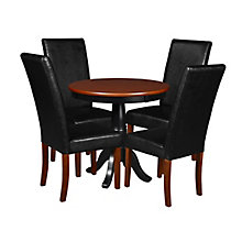 """30"""" Round Ped Table- / & 4 Din, 8821667"""