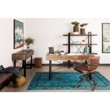Wondrous Foster Industrial Office Chair In Leather Officefurniture Com Bralicious Painted Fabric Chair Ideas Braliciousco