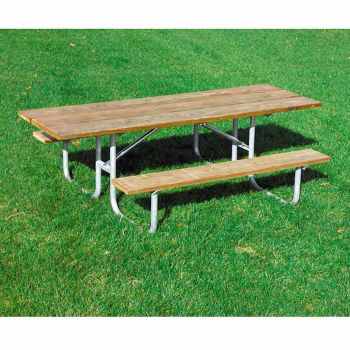 Pressure Treated Wood Picnic Table OfficeFurniturecom - Pressure treated wood picnic table