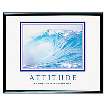 Attitude Motivational Print, UNE-AV78024