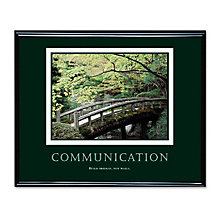 Communication Motivational Print, UNE-AVT78026
