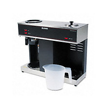 Bunn Pour-O-Matic Three Burner Coffee Brewer, UNE-BUNVPS