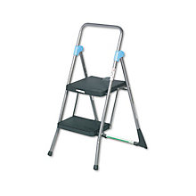 Heavy-Duty Two-Step Stool, UNE-CSC11829GGB
