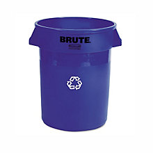 BRUTE Professional Grade Recycling Receptacle - 32 Gallon, UNE-RCP263273BE