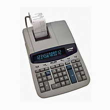 Desktop Calculator 12-Digit Fluorescent Display, UNE-VCT15606