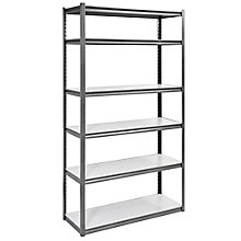 "Boltless Six Shelf Steel 84"" H, 8820434"