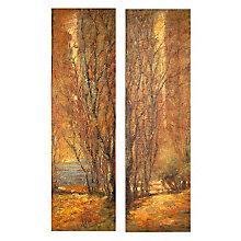Tree Panels - Set of Two Paintings, UTT-32147