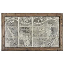 Treasure Map - Framed Wall Art, 8801872