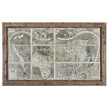 Treasure Map - Framed Wall Art, 8801872