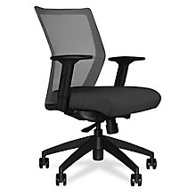 Run Four-Way Stretch Mesh Mid Back Task Chair, 8814193