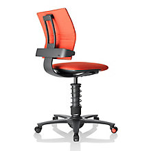 3Dee Fabric Multi Motion Task Chair with Black Frame, 8813952