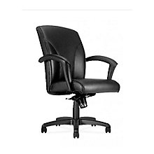 Oslo Leather Mid Back Conference Chair, 8814188