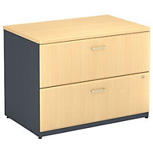 "Series A Fully Assembled Two Drawer Lateral File - 35.5""W, BUS-10110"