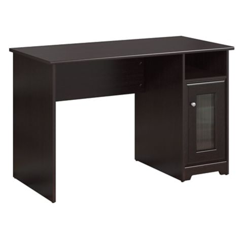 Compact desk with storage